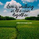 65 Romantic Raining Love Quotes