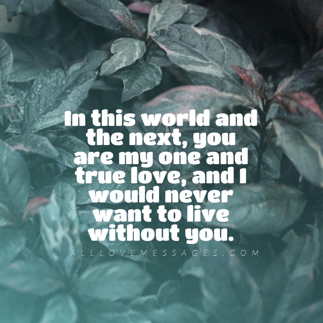 97 Heartfelt Deep Love Messages