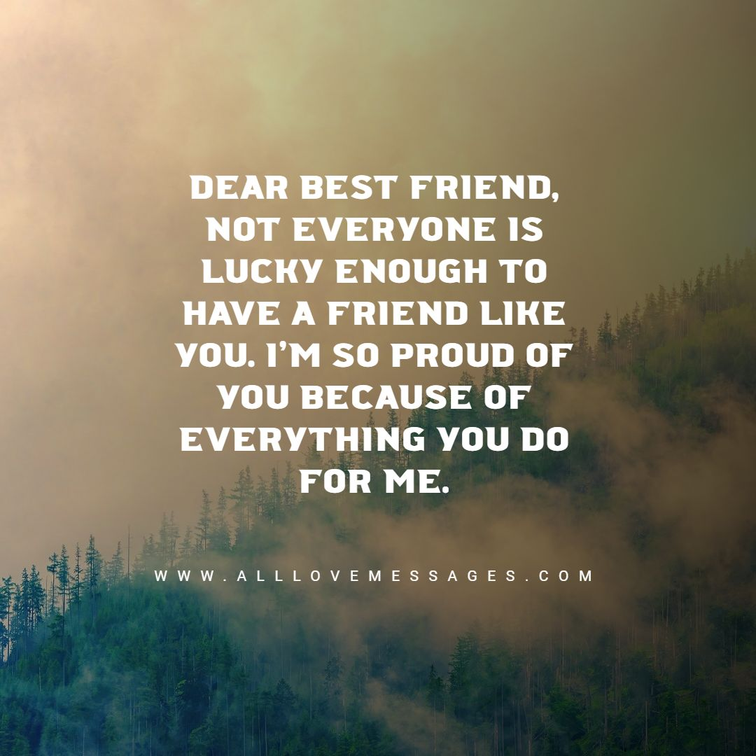 18 Proud of My Friend Quotes