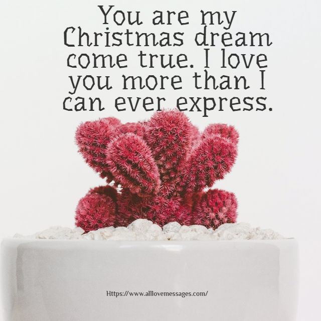 99 Romantic Merry Christmas Love Messages