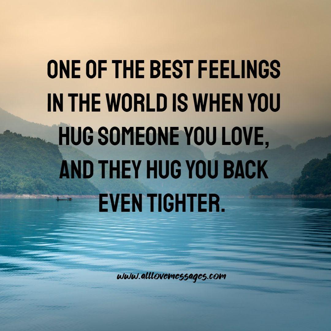 72 Cute Hug Love Quotes