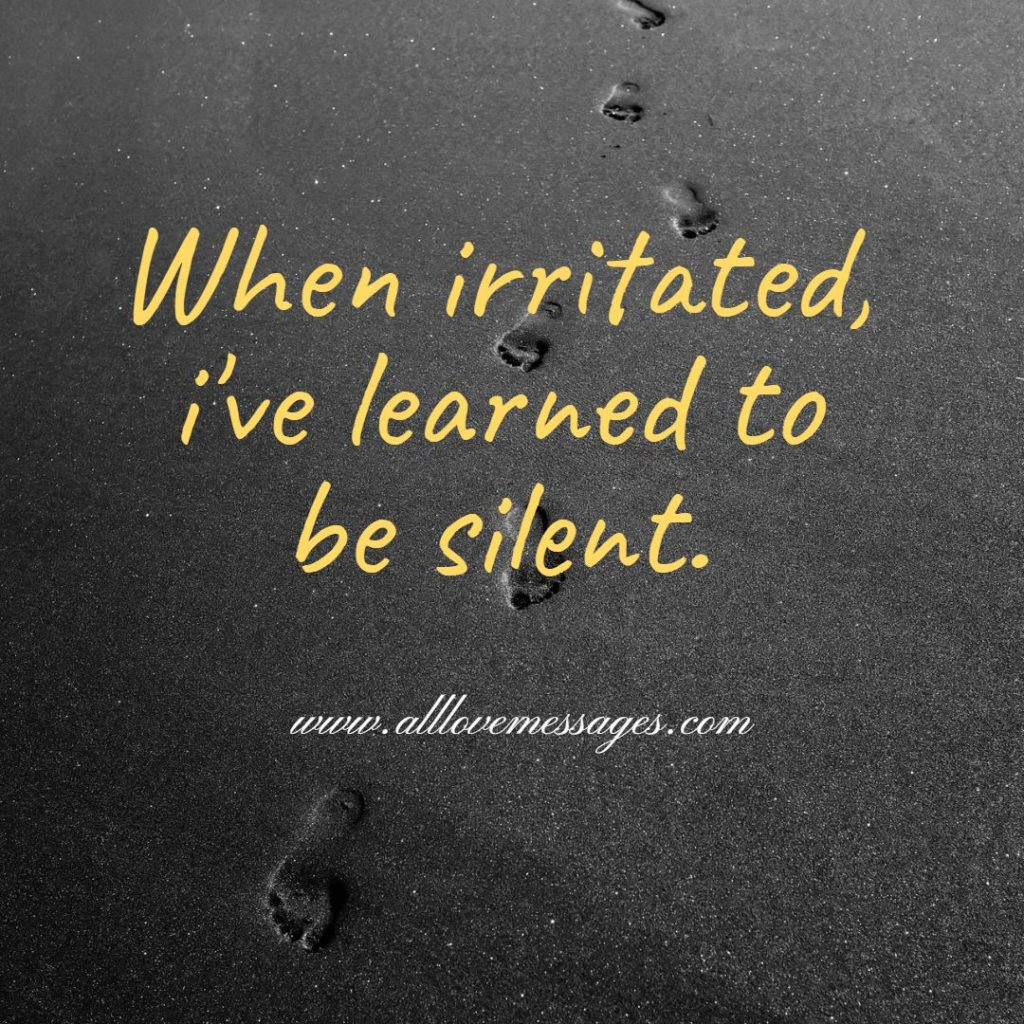 44 Quotes About Being Irritated
