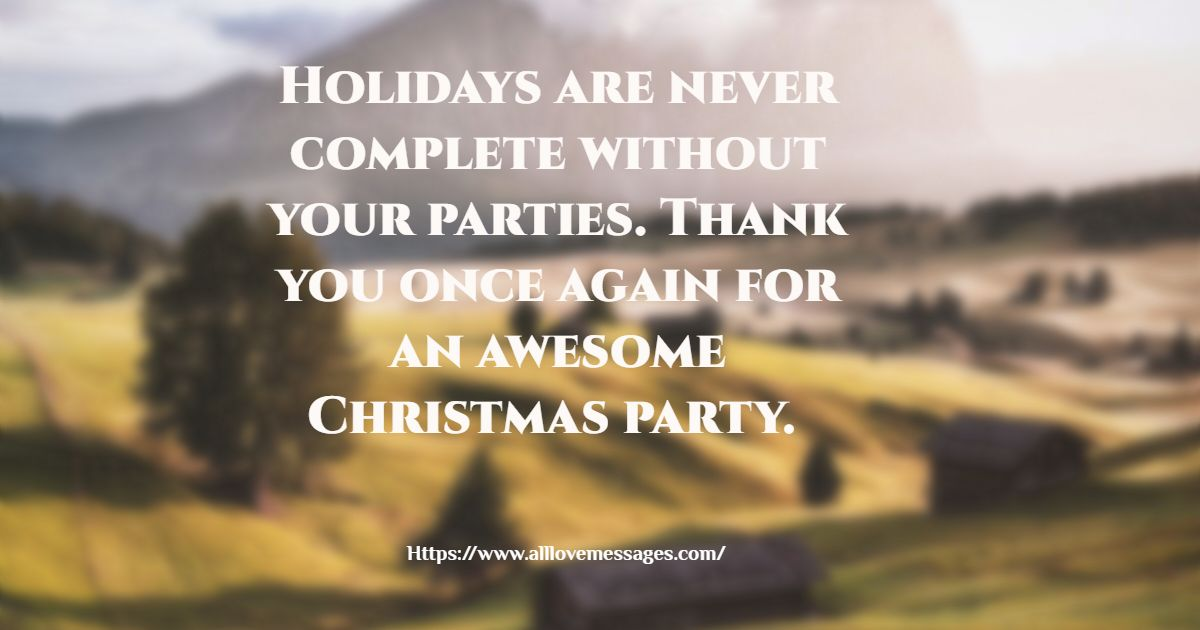 87 Inspirational Christmas Thank You Messages