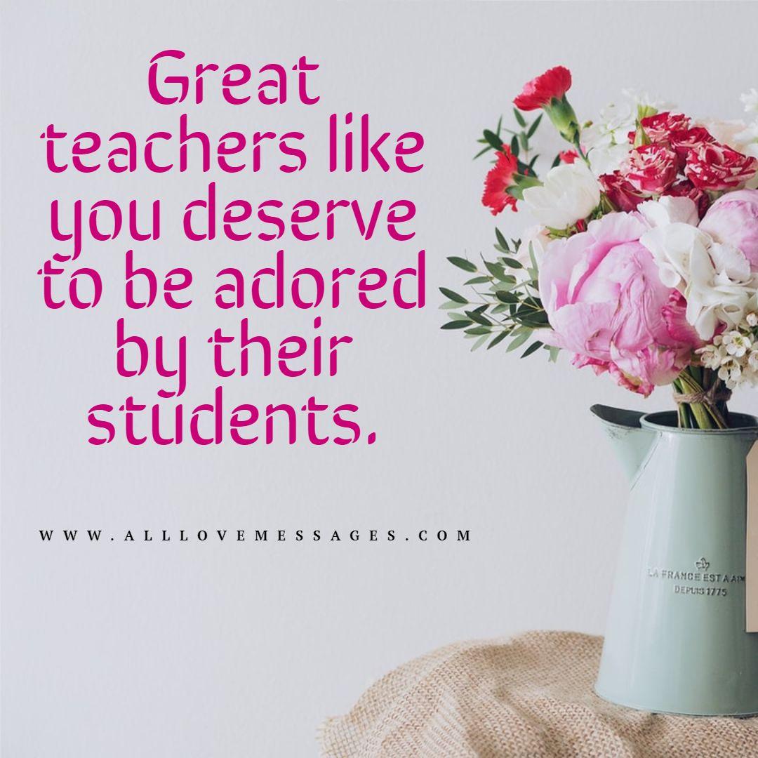 33 Valentines Message For Teacher