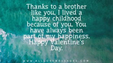 55 Valentines Day Messages For Brother
