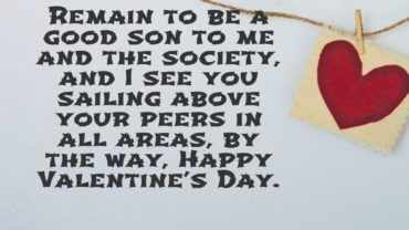 35 Valentine Messages From Mom To Son